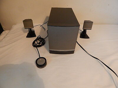 Bose companion 3 series II Speaker System Multimedia Sounds great