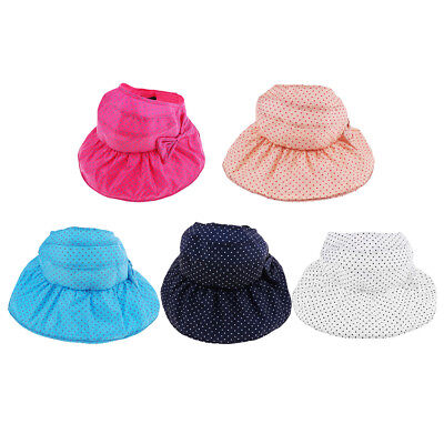 Summer Baby Kids Toddler Girls Sun Hat Outdoor Cap Beach Bucket Bonnet Hat