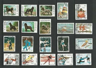 y5782 Laos /  A Small Collection  Early & Modern Used