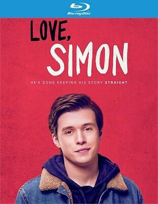 Love, Simon (Blu-ray Disc ONLY, 2018) - no DVD or Digital Code