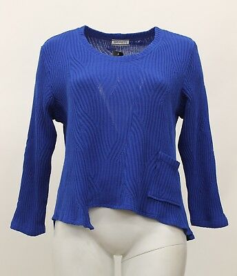 5c7ae1033 TRANSPARENTE EUROPEAN PLUS Cotton Knit Ribbed Pocket Pullover Tunic ...