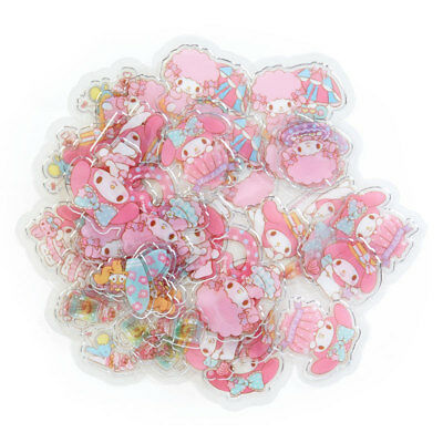 2018 Sanrio My Melody Sticker Set Sack Pack 40 pcs ~ NEW Free P+P