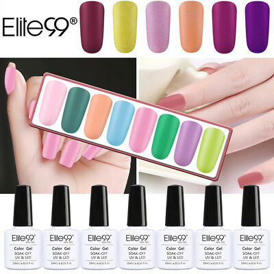 Elite99 Matte One Step Gel Nail Polish No Need Top Base Coat Lacquer Manicure