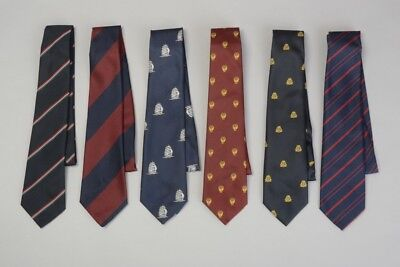 Ex Military Tailor's Shop Stock. Guards, RMP and other ties / neckties. Ref GUE