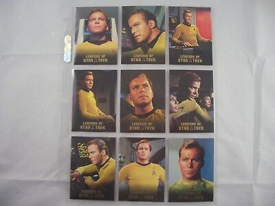 Legends of Star Trek Captain James T Kirk L1-L9 1593/1701