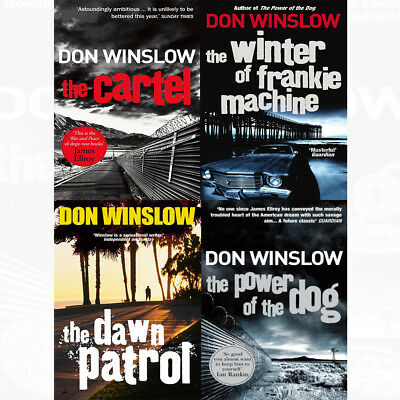 Don Winslow Power of the Dog 4 Books Collection Set Cartel,Winter of Frankie Mac