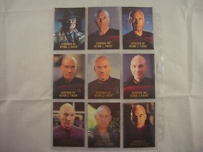 Legends of Star Trek Captain Jean-Luc Picard  L1-L9 1452/1701
