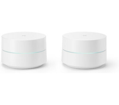 Google NLS-1304-25 Wi-Fi Whole Home System 2.4GHz 5GHz Dual Pack