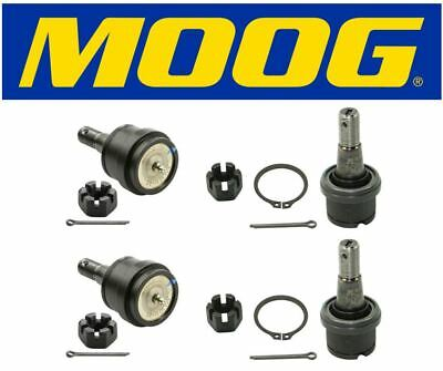 3500 Dodge Suspension Ball Joint Front Lower+Upper For 00-02 RWD Ram 2500