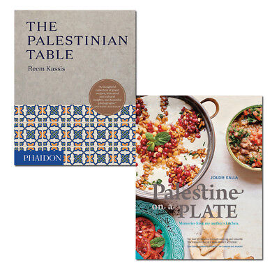 Joudie Kalla Palestine on a Plate and Reem Kassis Palestinian Table 2 Books Set