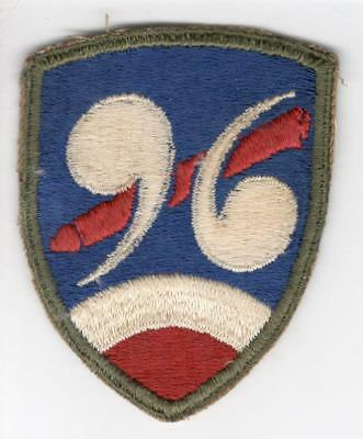 WW 2 US Army 96th Chemical Mortar Battalion Patch Inv# Z897