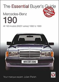 MERCEDES BENZ 190 All 190 MODELS BUYER'S GUIDE BOOK (W201 series) 1982 to 1993