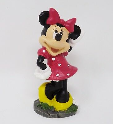 "Disney Minnie Mouse 3.5"" Resin Figurine - New"