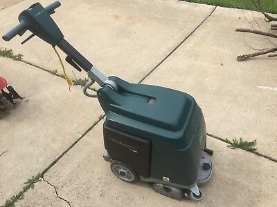 Used Tennant Nobles Strive Compact Carpet Floor Cleaner 12 Hours