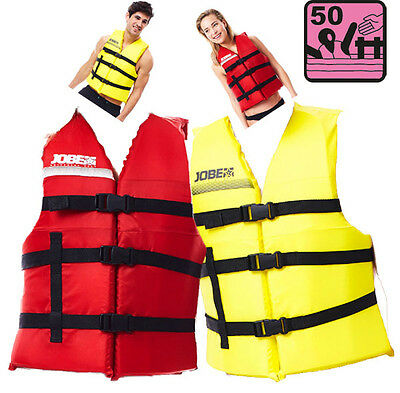 Pack 2 gilets mixte UNIVERSAL JOBE - ISO CE 50N - taille unique - rouge/jaune