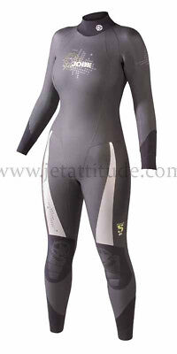 Combinaison femme Thermo Steamer Ladies 5mm Jobe - XS (34) -chaud-paddle-jetski