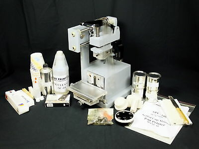 Manual Pad Printer SPC-100 Sealed Cup 90mm Ink Cup Instructions & Accessories
