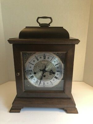 Working Hamilton Westminster Chime Bracket Shelf / Mantle Clock