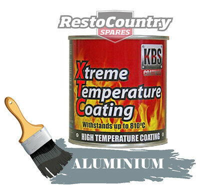 KBS Xtreme Temp Coating ALUMINIUM 250ml High Heat Resistant 260°C - 812°C