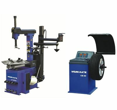 "Professional Tyre Changer (11""-26"") & Wheel Balancer Machine Combo-4 CE Standard"