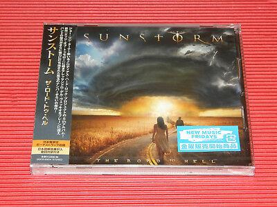 2018 JAPAN CD SUNSTORM The Road To Hell w/ Bonus Track for Japan Joe Lynn Turner