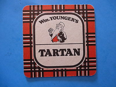 Beer Coaster ~*~ Wm. Younger's TARTAN Special - The Caledonian Brewery Company
