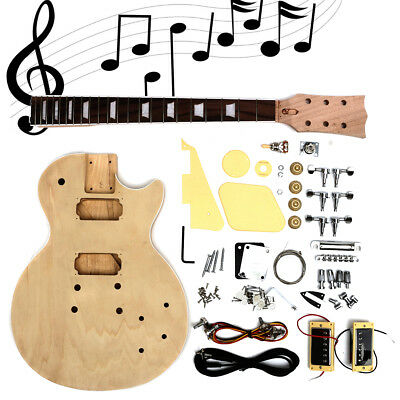 E-Gitarre Bausatz Körper Electric Guitar Body DIY selber bauen Do It Yourself