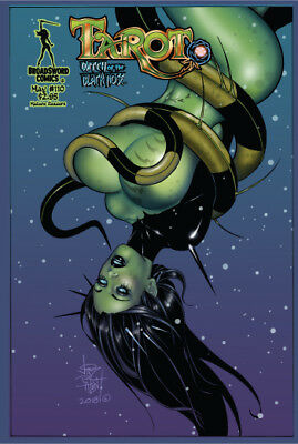 TAROT WITCH OF THE BLACK ROSE #110, COVER B, New, Broadsword (2018)