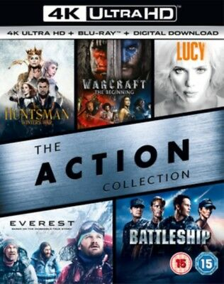 The Action Collection (5 Films) 4K Ultra HD NEW 4K UHD (8312677)