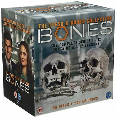 Bones Seasons 1 to 12 Complete Collection DVD NEW DVD (7858201000)
