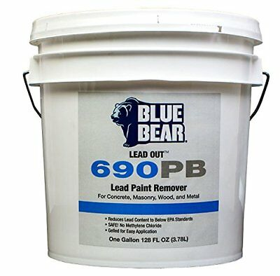 Blue Bear BBIPB1G 690PB Lead Out Paint Remover - 1 Gallon