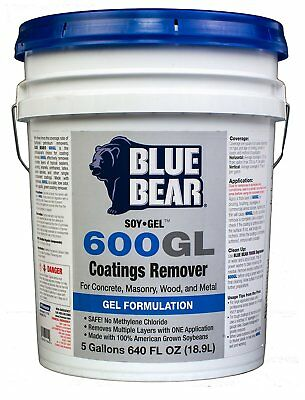 Blue Bear BBISG5G 600GL Coatings Remover - 5 Gallon