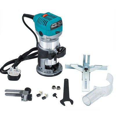 Electric Hand Trimmer Palm Router Wood working Laminate Joiners 710W for Makita