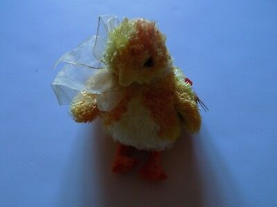 TY Beanie Babies Baby 2001 Chickie Yellow Chick Chicken New Retired Easter