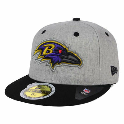 buy popular d8b79 aa107 Baltimore Ravens New Era NFL Total Reflective 59FIFTY Cap Hat Fitted Flat  Bill B