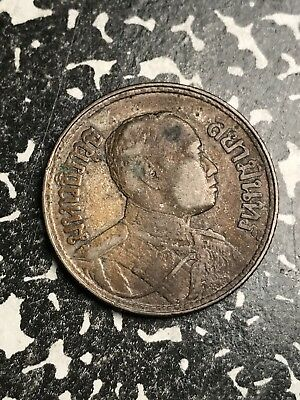 BE 2464 (1921) Thailand 1/2 Baht Lot#X5855 Silver!