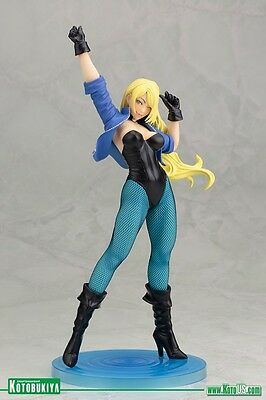 2016 Dc Comics Kotobukiya Bishoujo Exclusive Black Canary 1/7 Scale Pvc Statue