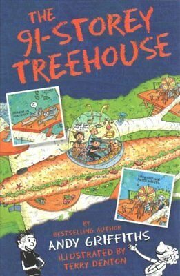 The 91-Storey Treehouse by Andy Griffiths (Paperback, 2017)