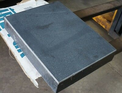 Precision Machinist Black Granite Surface Plate 24 x 18 x 4""