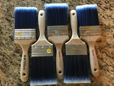 """NEW! Set of 5 PURDY 3 """" PRO-EXTRA SWAN PAINT BRUSHES  #716341044954"""