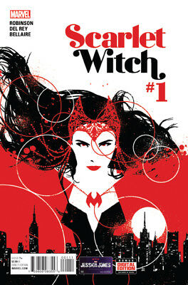 SCARLET WITCH #1, Marvel Comics (2015)