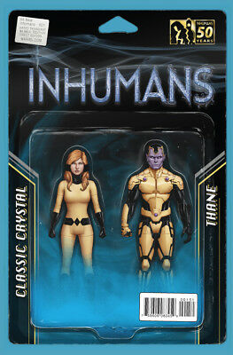 ALL NEW INHUMANS #1, ACTION FIGURE TWO PACK VARIANT, New, Marvel Comics (2015)