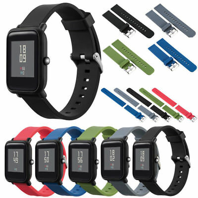 Silicone Sport Watch Band Strap For Xiaomi Huami Amazfit Bip Youth Wristband