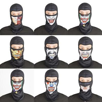 Cycling Bike Motorbike Riding Skiing Windproof Skeleton Skull Face Mask Bandana