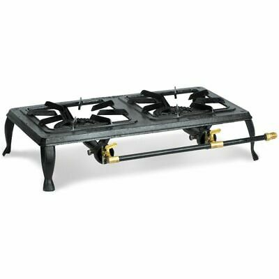 Stansport Cast Iron Stove - Double Burner 209 Cookware Accessory