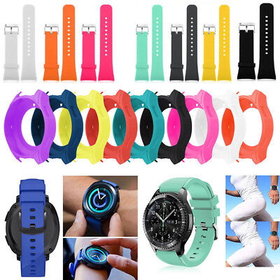 Durable Silicone Bracelet Strap Watch Band For Samsung Gear S3 Frontier 22mm