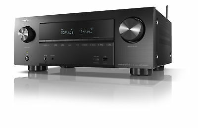 Denon AVR-X2500H Full 4K 7.2 Ultra HD AV Receiver mit HEOS & Amazon Alexa
