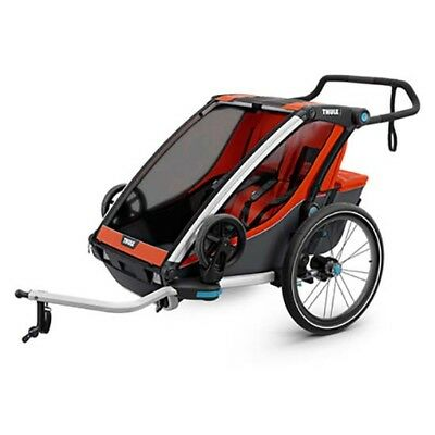 Thule Chariot Cross 2 + Bike Kit 2 Places