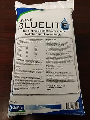 Swine Bluelite 2 Pounds Electrolyte Energy Vitamins Show Pig