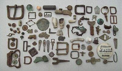 Dug Huge Lot Artifacts and Partifacts 1600's and later Metal Detecting Finds